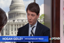 Watch White House Spokesperson Hogan Gidley Lie So Many Times About Puerto Rico in Just Three Minutes