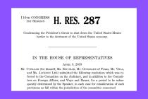 Reps. Cuellar and Escobar Introduce Resolution Condemning Trump's Threat to Shut Down Border
