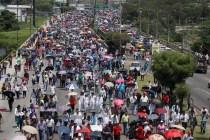 Honduras Street Protests Go On Despite Laws' Cancellation