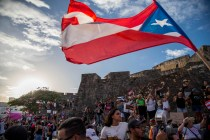 Thousands March in Puerto Rico to Demand Governor's Resignation