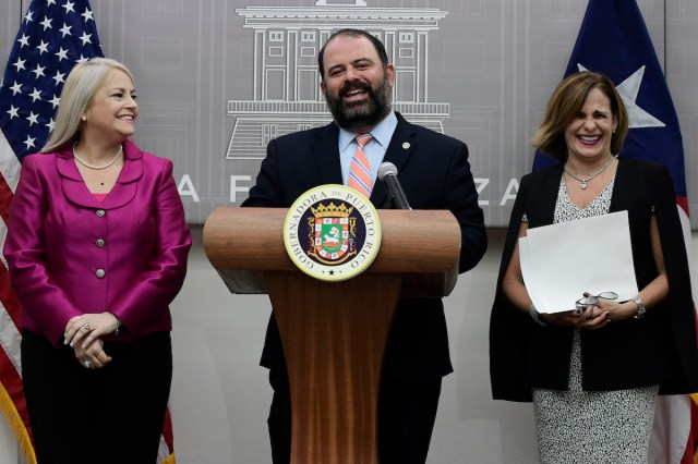 New Puerto Rico Governor Names 2 Members to Cabinet