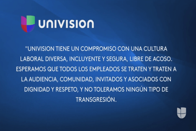 Univision Fires 'El Gordo y La Flaca' Writer/Producer for Sexual Harassment