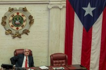 The Latest: Puerto Rico Senate Leader Lambastes Departing Governor