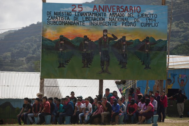 Zapatista Rebels Extend Control Over Areas in South Mexico