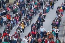 Protesters Move Into Ecuador's Capital as President Moves Out
