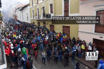 Massive Indigenous March in Quito Demands Moreno's Resignation