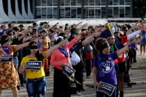 Brazil's Women Join in Anthem Denouncing Sexual Violence