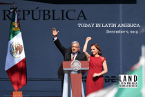 AMLO Celebrates One Year in Office as Protesters Decry Homicide Rate