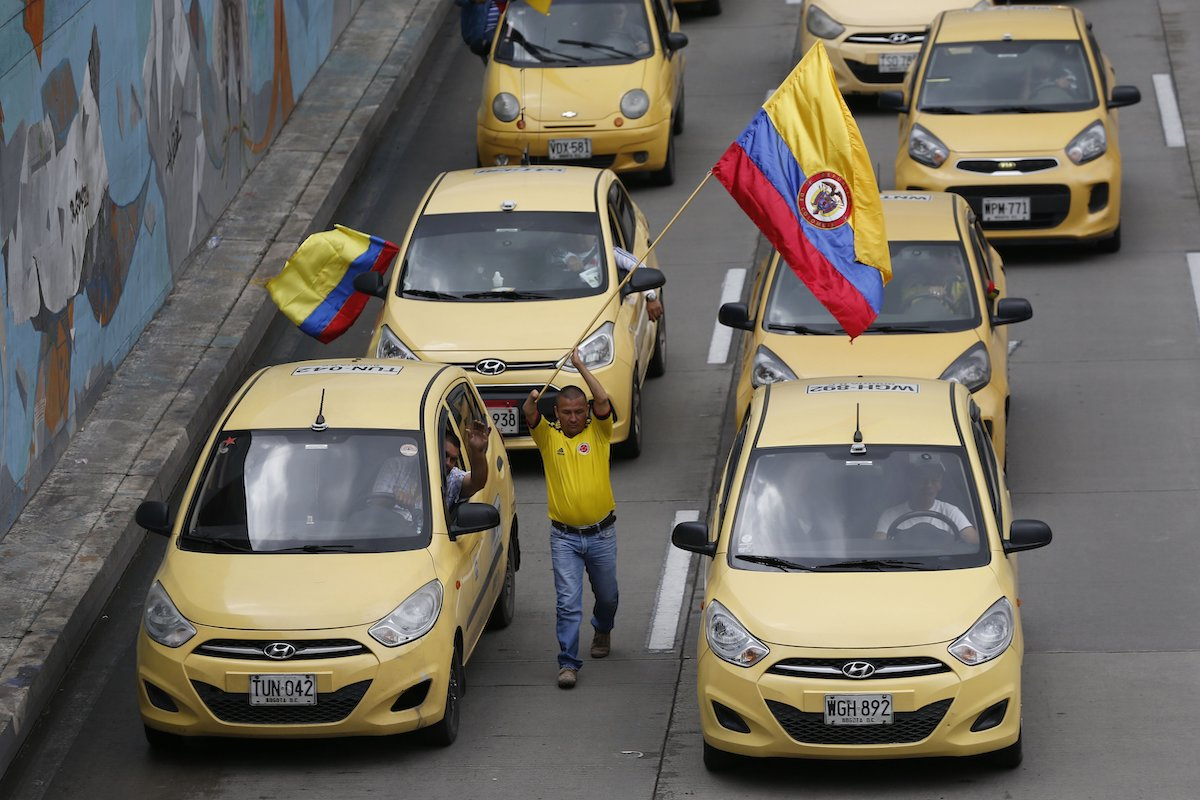 Uber Resumes Operating in Colombia After 3-Week Hiatus