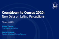New NALEO Study Identifies Messages to Motivate Latino Participation in 2020 Census