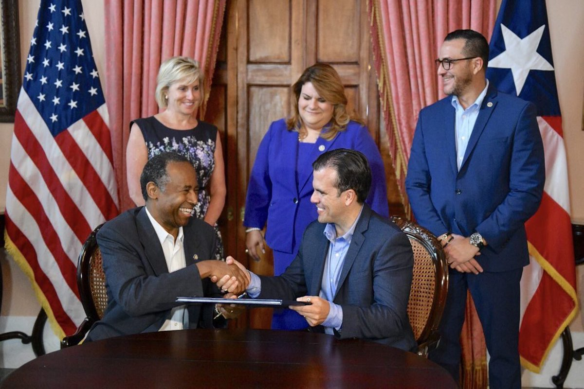 Former HUD Deputy Secretary Works at Firm Commissioned for Puerto Rico's Recovery Efforts