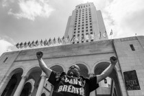 '¡No Puedo Respirar!' (I Can't Breathe): Scenes From Saturday's Protest in Los Angeles