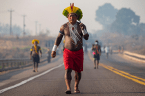 Indigenous Protesters in Brazil Demand COVID-19 Protection