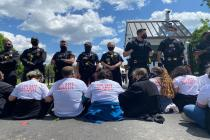 Undocumented Immigrants and Allies Risk Arrest, Deportation to Protest Biden's First 100 Days Without Sufficient Action on Immigration
