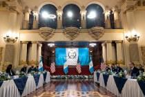Harris Says Leaders Need to Restore Hope in Guatemala