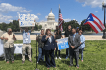 Supporters of Puerto Rico Statehood Gather on Capitol Hill Before Key House Hearing