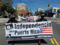 Puerto Rico Independence Supporters March in 9 US Cities