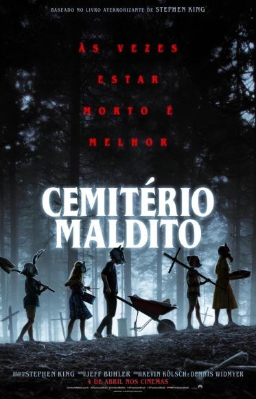 Novo cartaz do filme Cemitério Maldito de Stephen King.