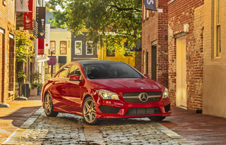 2014 Mercedes-Benz CLA250.