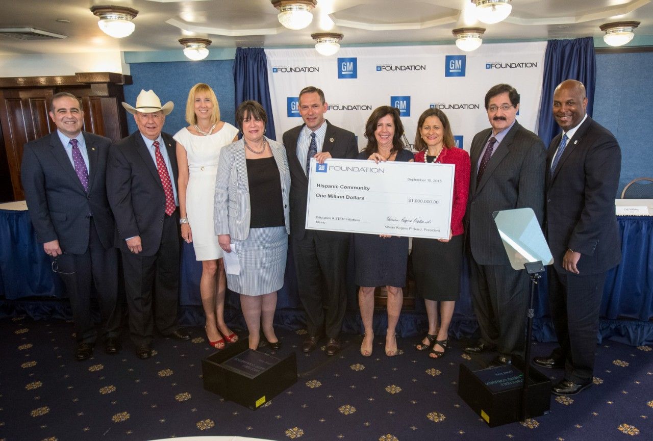 Gm foundation grants 1 million to hispanic groups for National general motor club