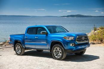 2016 Toyota Tacoma HMPA Light Duty Truck Winner.