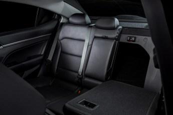 60/40-split folding rear seat