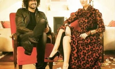 Clipe de Laura Pausini com Melendi foi inspirado no filme Sr. e Sra. Smith