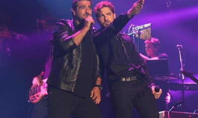 Antonio Orozco divulgou o dueto com David Biisbal