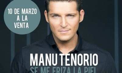Manu Tenorio encabeça lista de vendas com seu novo single