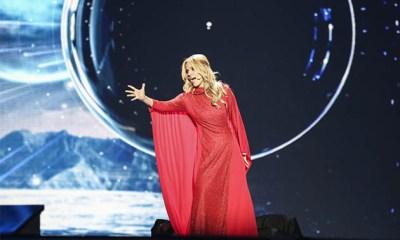 Segundo ensaio Edurne Eurovision