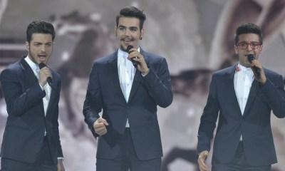 O Il Volo fez seu segundo e último ensaio aberto no palco do Eurovision