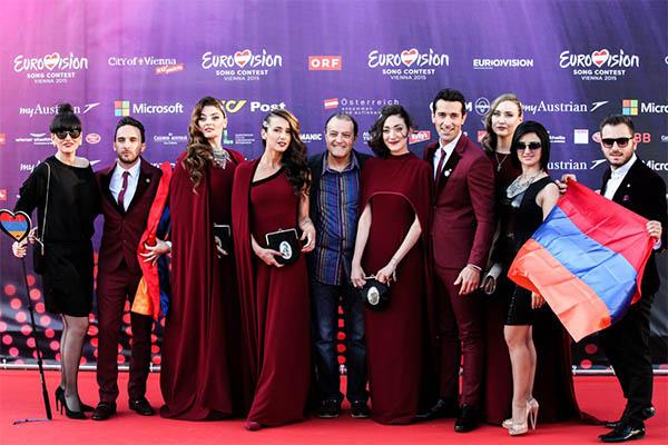 Armênia  Opening Ceremony Eurovision