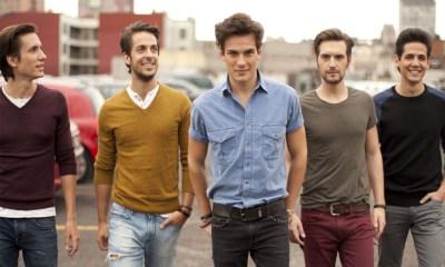 """A Dvicio é formada por Andrés Ceballos, Martín Ceballos, Alberto """"Missis"""" González, Luis Gonzalvo e Nacho Gotor"""
