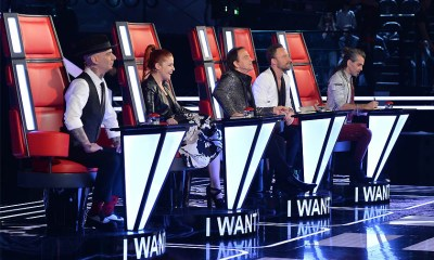 Os cinco donos das quatro cadeiras do The Voice of Italy