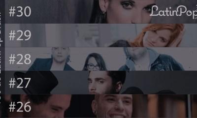 O melhor da música latina em 2015
