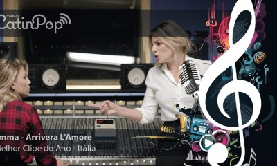 Melhor videoclipe 2015 Itália - Emma - Arriverà L'Amore