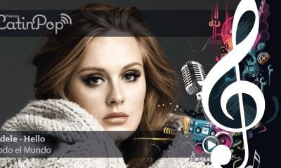 """Adele é a vencedora do Prêmio LatinPop 2014 de """"Todo El Mundo"""""""
