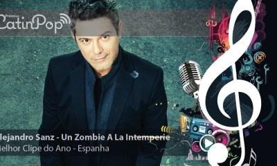 Melhor Videoclipe 2015 Espanha: Alejandro Sanz - Un Zombie A La Intemperie