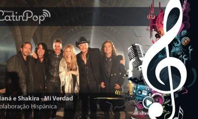 A melhor colaboração entre artistas hispânicos de 2015 foi Mi Verdad, que uniu Shakira e Maná