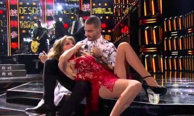 Thalia e Maluma dominaram as atenções nos Premios Lo Nuestro 2016
