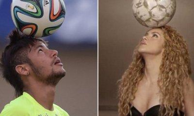 Shakira e Neymar estão em campanha da Unicef