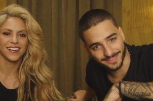 Chantaje é o sexy single de Shakira e Maluma