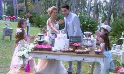 Filha Linda é o segundo videoclipe de Lucero para Carinha de Anjo