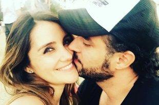 Dulce Maria e o namorado Paco