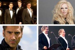 Il Divo, Patty Pravo, Alejandro Fernández e os três tenores: diferentes versões de My Way