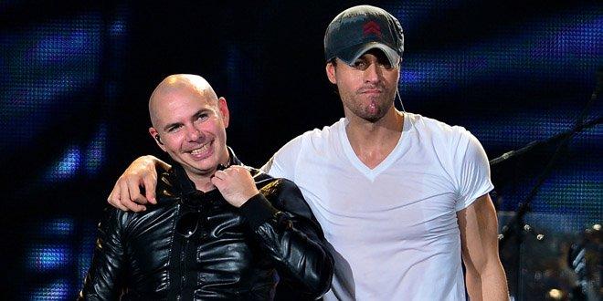 Enrique Iglesias e Pitbull farão turnê conjunta