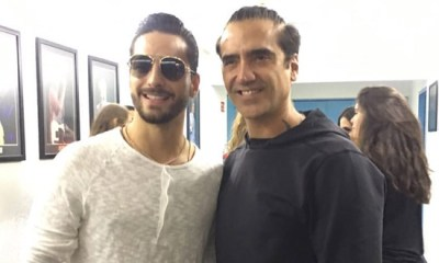 Maluma vai gravar com Alejandro Fernández