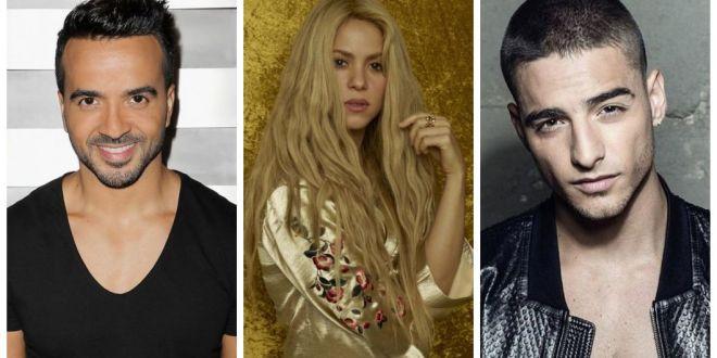 Luis Fonsi, Shakira e Maluma estão indicados ao Grammy Latino
