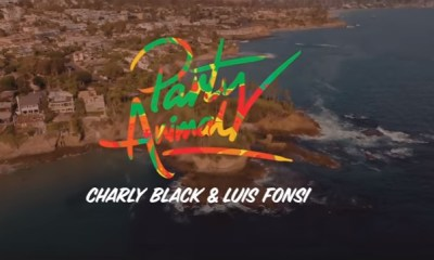 Charly Black relança hit de 2016 com Luis Fonsi