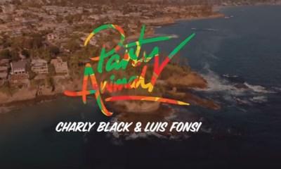 Charly Black relança hit de 2016 com Luis Fonsi